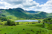 Langdale Pikes in the Lake District National Park, Cumbria, UK