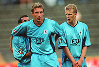 Fotball: v.l.: Vidar RISETH, Daniel BIEROFKA        <br />                                             Fussballspieler  TSV 1860 München