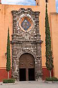 The Templo de San Juan de Dios church in the historic city of San Miguel de Allende, Mexico.