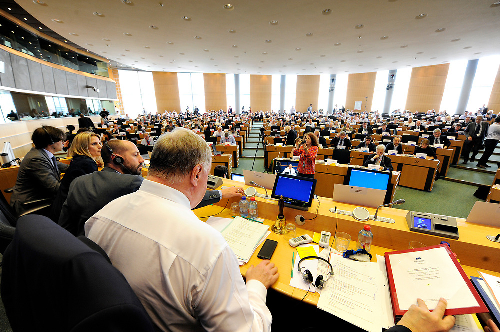 12 May 2017, 123rd Plenary Session of the European Committee of the Regions <br /> Belgium - Brussels - May 2017 <br /> <br /> LAMBERTZKarl-Heinz
