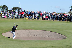 Ross Fisher during day four of the Betfred British Masters at Hillside Golf Club, Southport.