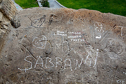 Writing On Old City Walls