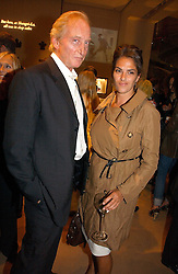 Actor CHARLES DANCE and artist TRACEY EMIN at a party to celebrate 100 years of Chinese Cinema hosted by Shangri-la Hotels and Tartan Films at Asprey, New Bond Street, London on 25th April 2006.<br /><br />NON EXCLUSIVE - WORLD RIGHTS