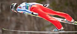 21.03.2010, Planica, Kranjska Gora, SLO, FIS SKI Flying World Championships 2010, Flying Hill Team, im Bild ROSLIAKOV Ilja, ( RUS ), EXPA Pictures © 2010, PhotoCredit: EXPA/ J. Groder / SPORTIDA PHOTO AGENCY