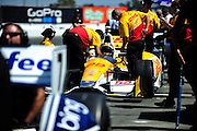 24-26 August, 2012, Sonoma, California USA.Ryan Hunter-Reay (28) .(c)2012, Jamey Price.LAT Photo USA