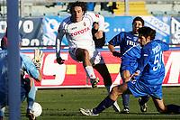 Fotball<br /> Serie A Italia<br /> Foto: Graffiti/Digitalsport<br /> NORWAY ONLY<br /> <br /> Empoli 18/12/2005 <br /> <br /> Empoli v Fiorentina 1-1<br /> <br /> Luca Toni Fiorentina