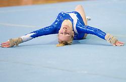 Teja Belak during Slovenian Artistic Gymnastics National Chapionship 2011, on November 20, 2011 in GIB Arena, Ljubljana, Slovenia. (Photo By Vid Ponikvar / Sportida.com)