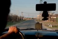 Rumänische Autobahn.