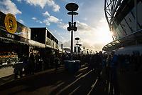 Football - 2018 / 2019 Premier League - West Ham United vs. Watford <br /> <br /> Fans gathering, at The London Stadium.<br /> <br /> COLORSPORT/ASHLEY WESTERN