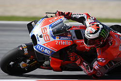 August 12, 2018 - Spielberg, Austria - 99 Spanish driver Jorge Lorenzo of Team Ducati Racing race during warm up of Austrian MotoGP grand prix in Red Bull Ring  in Spielberg, on August 12, 2018. (Credit Image: © Andrea Diodato/NurPhoto via ZUMA Press)