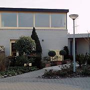 Woning Rob Verlinden James Stewartstraat voorzijde in Almere