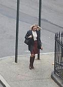 Naomi Watts filming in New York