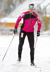 Katja Visnar during media day of Slovenian Nordic Cross country team, on October 21, 2010 in Ramsau am Dachstein, Austria. (Photo By Vid Ponikvar / Sportida.com)