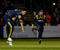 Glamorgan's Ruaidhri Smith in action today <br /> <br /> Photographer Simon King/Replay Images<br /> <br /> Vitality Blast T20 - Round 14 - Glamorgan v Surrey - Friday 17th August 2018 - Sophia Gardens - Cardiff<br /> <br /> World Copyright © Replay Images . All rights reserved. info@replayimages.co.uk - http://replayimages.co.uk