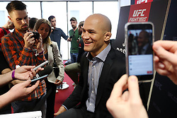 07.04.2016, Zagreb, CRO, UFC Fight Night, Pressekonferenz, im Bild Junior Dos Santos. // Fighters during the press conference before UFC Fight Night at Zagreb, Croatia on 2016/04/07. EXPA Pictures © 2016, PhotoCredit: EXPA/ Pixsell/ Dalibor Urukalovic<br /> <br /> *****ATTENTION - for AUT, SLO, SUI, SWE, ITA, FRA only*****