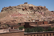 Ancient hilltop fortresss ite, Ait- Benhaddou, Morocco