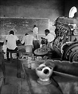 Male students - West Nile, Moyo District, Uganda.