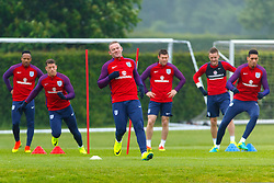 © Licensed to London News Pictures. 01/06/2016. London, UK. England's WAYNE ROONEY and England team train at Watford Training Ground on Wednesday, 1 June 2016, ahead of the Euro 2016 in France. Photo credit: Tolga Akmen/LNP