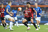 Bournemouth forward Dominic Solanke (9) during the Premier League match between Everton and Bournemouth at Goodison Park, Liverpool, England on 26 July 2020.