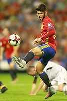 Spain's Marco Asensio during FIFA World Cup 2018 Qualifying Round match. October 6,2017.(ALTERPHOTOS/Acero)
