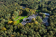 Nederland, Gelderland, Gemeente Ede, 03-10-2010; Nationaal Park De Hoge Veluwe, Museum Kroller-Muller. .luchtfoto (toeslag), aerial photo (additional fee required).foto/photo Siebe Swart