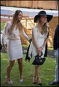 BELLA WEST; ABBIE WILSON, Ebor Festival, York Races, 20 August 2014