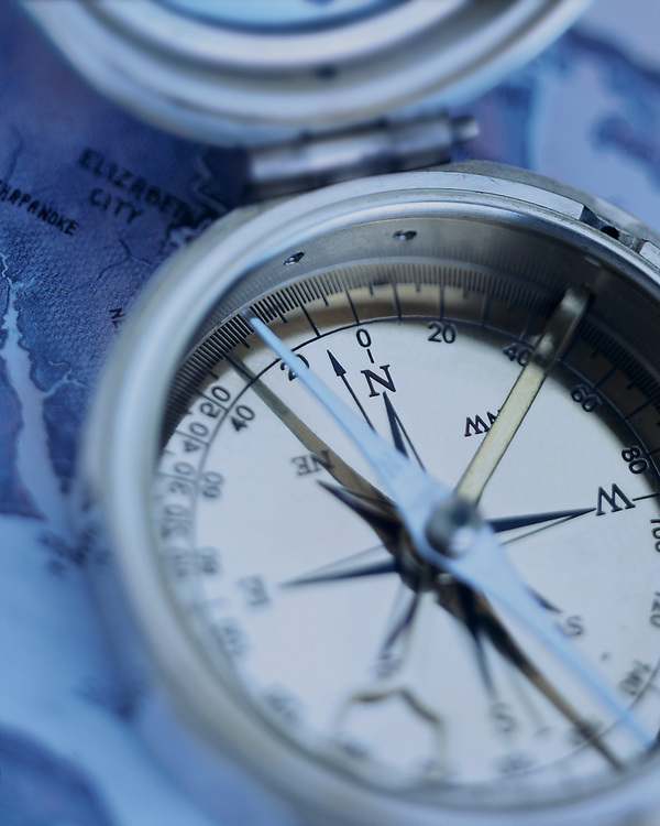 Compass Photo Illustration, Piedmont Natural Gas