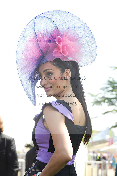 SOFIA HYATT at the third day of the Royal Ascot 2010 (Ladies Day) Racing Festival at Ascot Racecourse, Bershire on 17th June 2010.