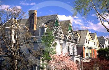 Harrisburg, PA, Urban Residential Architecture, Urban Renewal, Street Scape