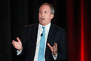 State Senator and Texas Attorney General candidate Ken Paxton speaks during the 2014 RedState Gathering at the Worthington Renaissance Hotel in Fort Worth, Texas on August 9, 2014. (Cooper Neill for The Texas Tribune)