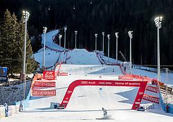 18.12.2016, Grand Risa, La Villa, ITA, FIS Ski Weltcup, Alta Badia, Riesenslalom, Herren, 2. Lauf, im Bild Christoph Noesig (AUT) // Christoph Noesig of Austria reacts after his 2nd run of men's Giant Slalom of FIS ski alpine world cup at the Grand Risa race Course in La Villa, Italy on 2016/12/18. EXPA Pictures © 2016, PhotoCredit: EXPA/ Johann Groder
