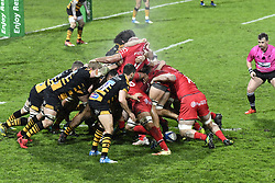 December 15, 2018 - Toulouse, France - Ruck Toulouse vs Wasps (Credit Image: © Panoramic via ZUMA Press)