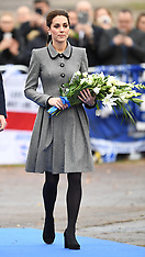 The Duke and Duchess of Cambridge visit Leicester - 28 Nov 2018