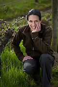 Molly Williams Hodgins, Chehalem's viticulturist and vineyard manager of Corral Creek, Ridgecrest, and Wind Ridge Vineyards.