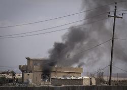 November 2, 2016 - Nineveh Governorate, Iraq - Isis occupied house. (Credit Image: © Bertalan Feher via ZUMA Wire)