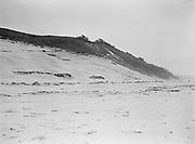 9969-0285. Sand dunes south of Oceanside September 5, 1930.