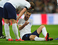 Football - 2018 / 2019 UEFA European Championships Qualifier - Group A: England vs. Czech Republic<br /> <br /> Eric Dier of England lies injured after had to be substituted, at Wembley Stadium.<br /> <br /> COLORSPORT/ANDREW COWIE