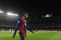 Barcelona's Neymar - Photo mandatory by-line: Dougie Allward/JMP - Mobile: 07966 386802 - 18/03/2015 - SPORT - Football - Barcelona - Nou Camp - Barcelona v Manchester City - UEFA Champions League - Round 16 - Second Leg