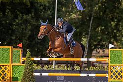 Hendrickx Dominique, BEL, Vintadge de la Roque<br /> Belgisch Kampioenschap Jumping  <br /> Lanaken 2020<br /> © Hippo Foto - Dirk Caremans<br /> 02/09/2020