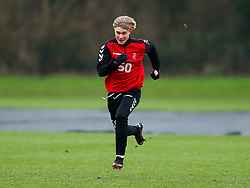 Sam Bell of Bristol City during a training session ahead of the FA Cup game with Portsmouth - Rogan/JMP - 07/01/2021 - Failand - Bristol, England.