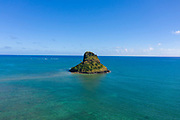Chinamans Hat, Kaneohe Bay, Oahu, Hawaii