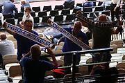 Tifosi Brindisi<br /> Happy Casa Brindisi  - AIX Armani Exchange Milano<br /> Discovery+ Supercoppa 2021 - Final Eight - Semifinale<br /> LBA Legabasket Serie A UnipolSAI 2021/2022<br /> Bologna, 20/09/2021<br /> Foto Michele Brunello / Ciamillo-Castoria