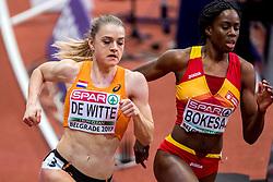 03-03-2017  SRB: European Athletics Championships indoor day 1, Belgrade<br /> In een lege Kombank Arena wordt de eerste dag van het Europees Kampioenschap gehouden / Lisanne de Witte