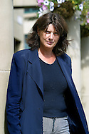 Portrait of French director Catherine Breillat, pictured the morning after the UK premiere of her latest film, 'Sex is  Comedy' at the Edinburgh International Film Festival..