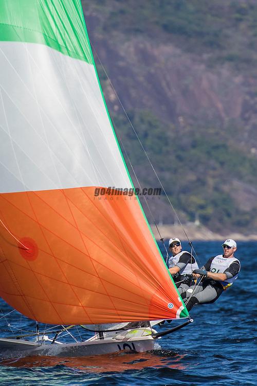 49er IRL Ryan Seaton IRLRS8 Matthew McGovern IRLMM41<br /> <br /> 2016 Olympic Games <br /> Rio de Janeiro