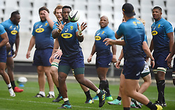 Cape Town-180619 Springbok captain Siya Kolisi during their training session at Cape Town stadium,the team is preparing for the last test  against England at Newslands on Saturday..Photographer:Phando Jikelo/African News Agency/ANA