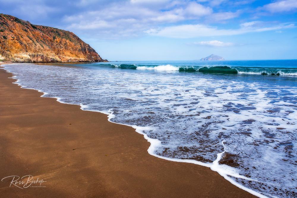 Smugglers Cove, Santa Cruz island, Channel Islands National Park, California USA