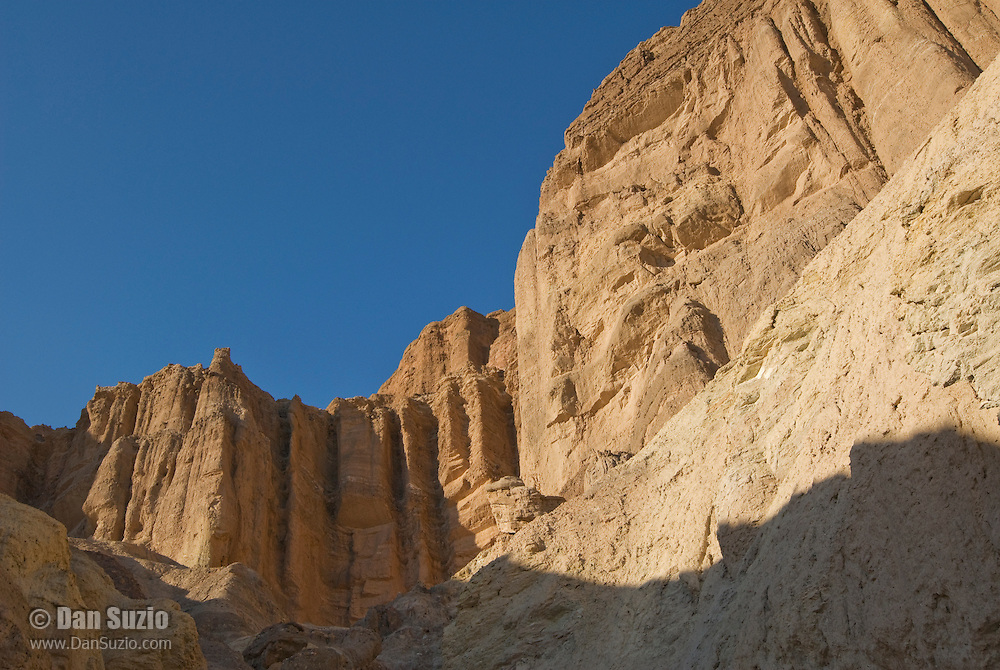 Red Cathedral, a natural amphitheater at the head of Golden Canyon, Death Valley National Park, California