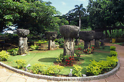 Latte Stone Park, Agana, Guam, Micronesia<br />
