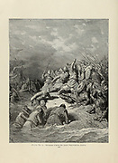 Richard Coeur de Lion Delivering Jaffa [November 1191] Plate L from the book Story of the crusades. with a magnificent gallery of one hundred full-page engravings by the world-renowned artist, Gustave Doré [Gustave Dore] by Boyd, James P. (James Penny), 1836-1910. Published in Philadelphia 1892